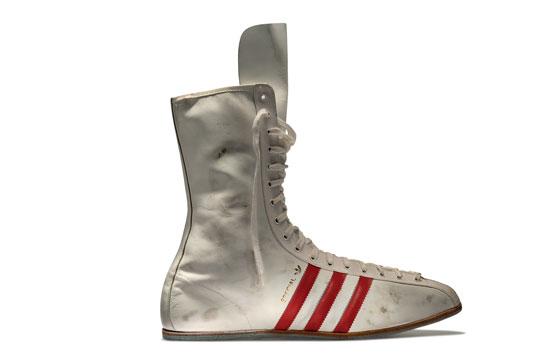 1960 - Buty zrobione na specjalne zamówienie Muhammada Alego