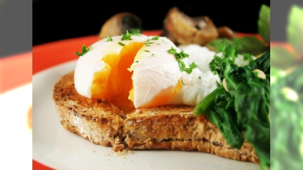 jajko zdrowe śniadanie
