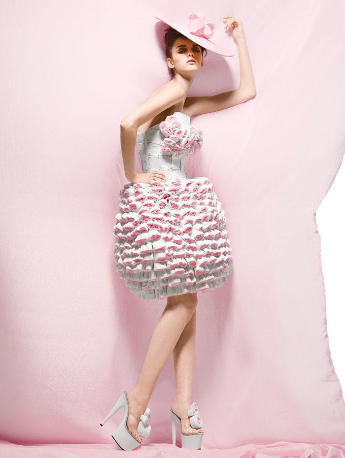 Модные платья для полных женщин 2012.