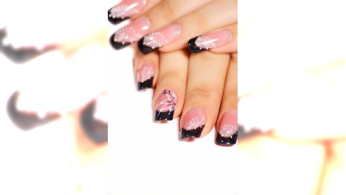 Dekoracyjny manicure