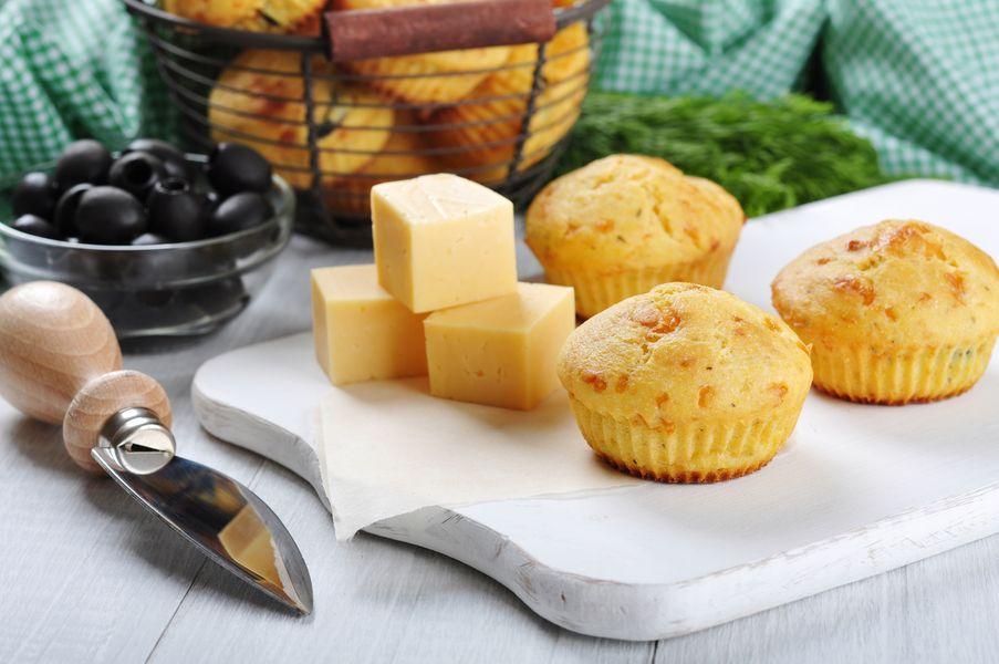 Stylowa Kuchnia Muffinki Na Ostro Z żółtym Serem
