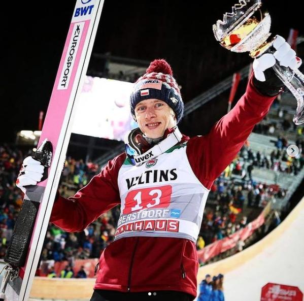 Dawid Kubacki reprezentant Polski w skokach narciarskich